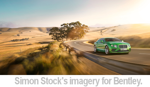 Simons Stock's work for Bentley.