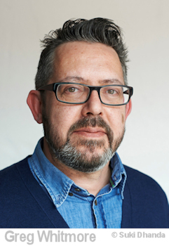 portrait of greg whitmore, picture editor of the Observer newspaper UK