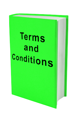 terms and conditions book