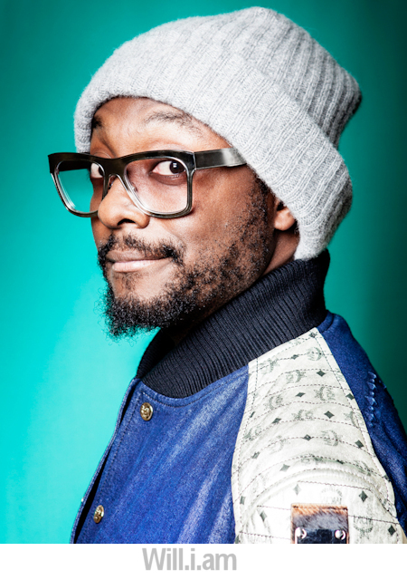 Will.i.am portrait